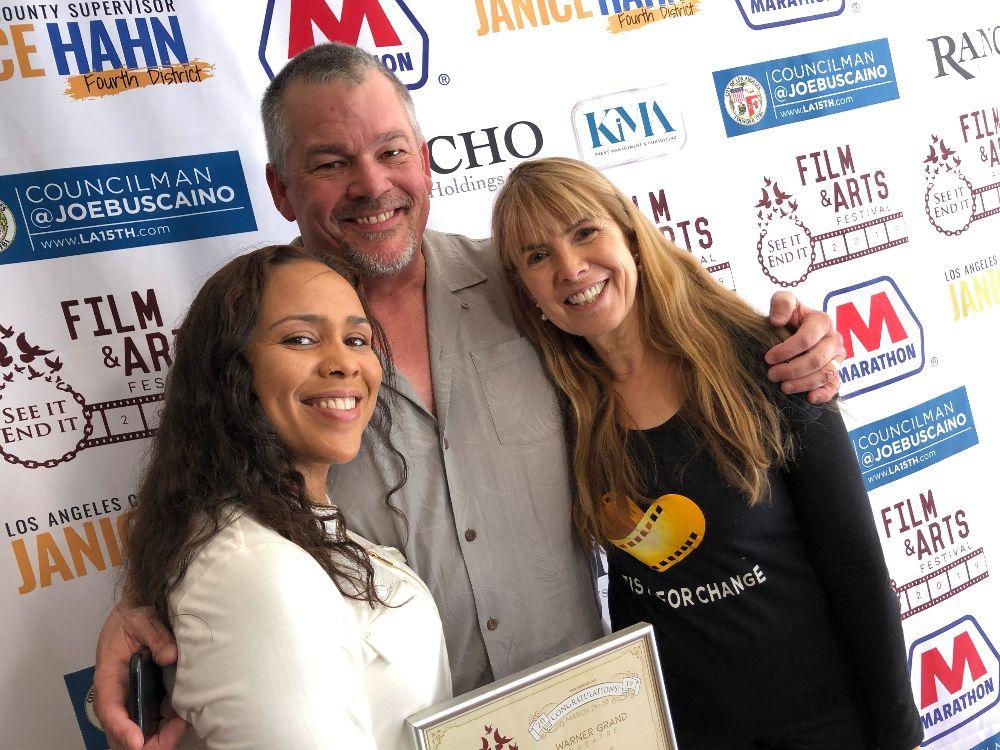 Artists for Change attends <em>See It, End It! Film Festival</em>